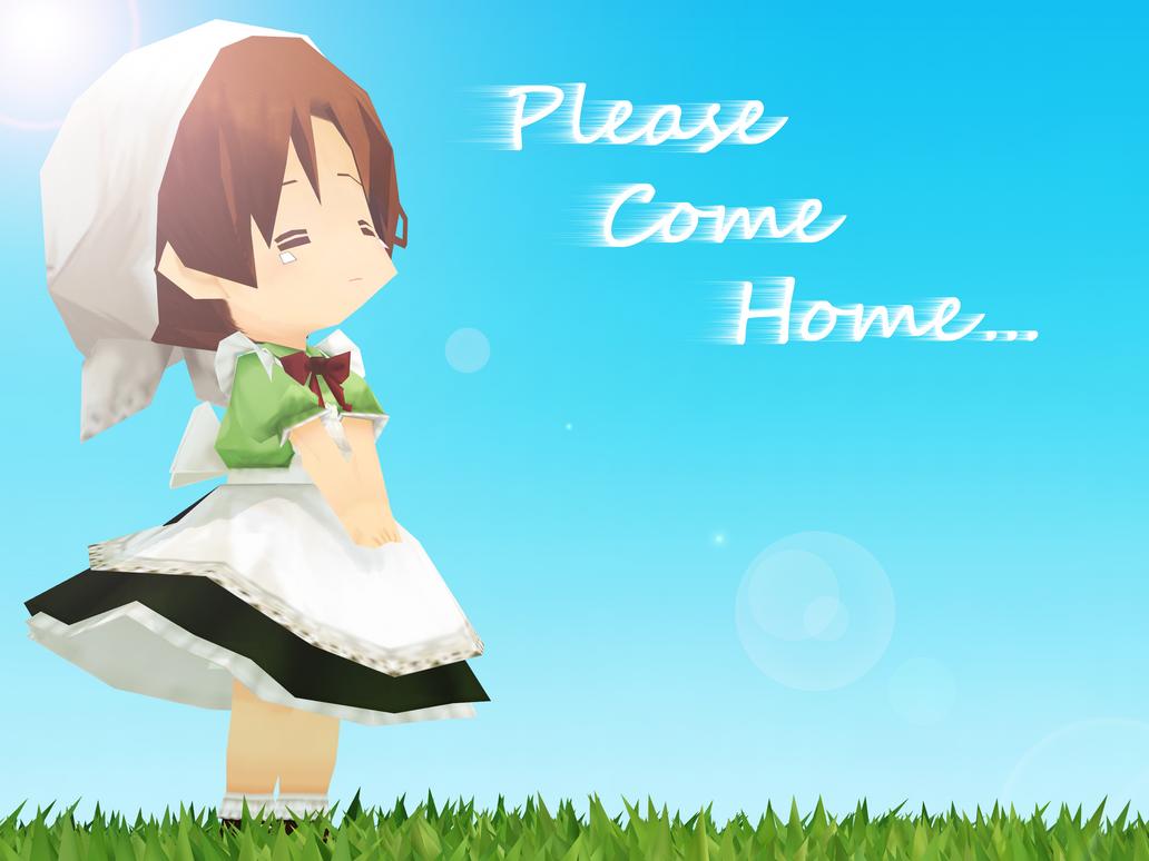 .: Please Come Home :. by CinnamonBunBunny