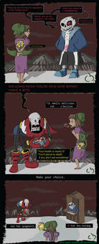 Sans' Creepy Advice by Sour-Apple-Studios