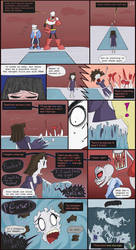 Horrortale Comic 28: The Second Puzzle by Sour-Apple-Studios