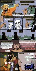 Horrortale Comic 36: Story Time