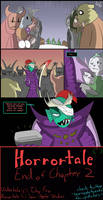 Horrortale 46 - Interrogation by Sour-Apple-Studios