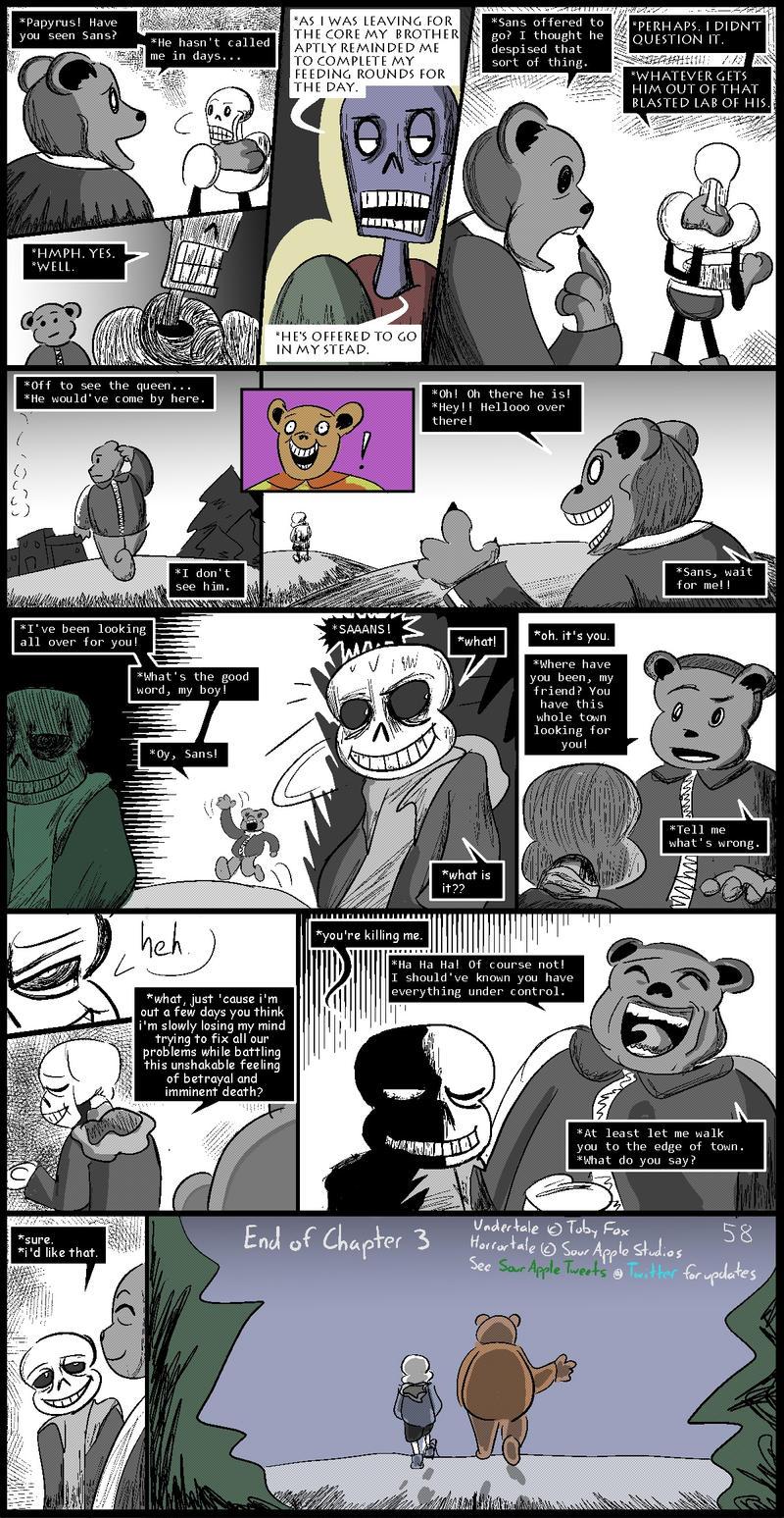 Horrortale 57- The Final Visit by Sour-Apple-Studios