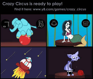 New Game- Crazy Circus