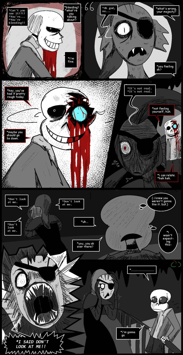 Horrortale 66- Second Thoughts by Sour-Apple-Studios