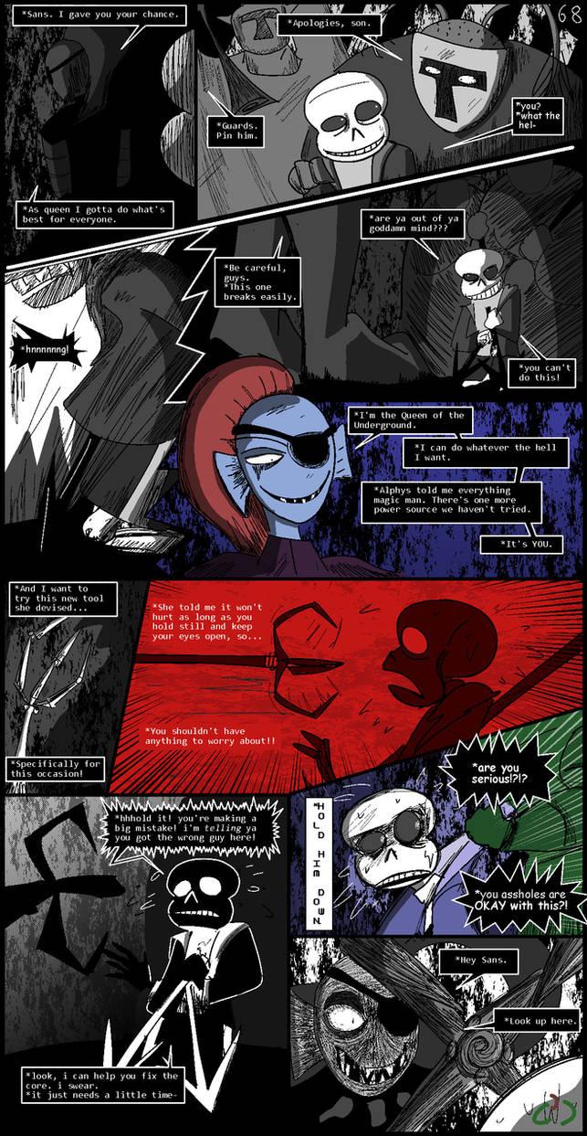 Horrortale 68- True Colors