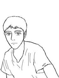 Sketch Rapido Pollo Estilo Anime by ultimateprime18