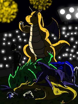 Dragonite (yo lo llamo Siegfried) manda