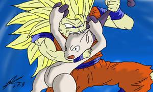 Goku used Crunch!