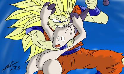 Goku used Crunch! by ultimateprime18