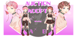 [OPEN] Auction Adoptable [OPEN] by OwlZep
