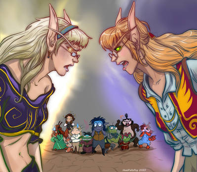 Battle of the Blondes