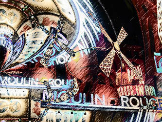 moulin rouge by alsature