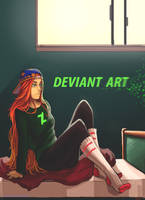 ALWAYS BEEN A DEVIANT ART KIND OF GAL by BoraDraws