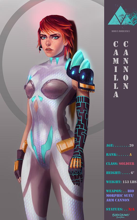 Camilla Cannon 3.0 Poster by BoraDraws
