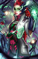 Poison Ivy by BoraDraws