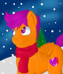 Out in the snow by Billy-Parker