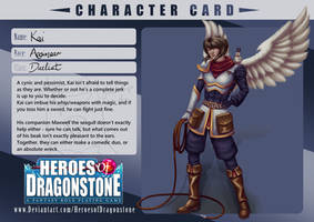 [Heroes of Dragonstone] Kai by Jasmineteax