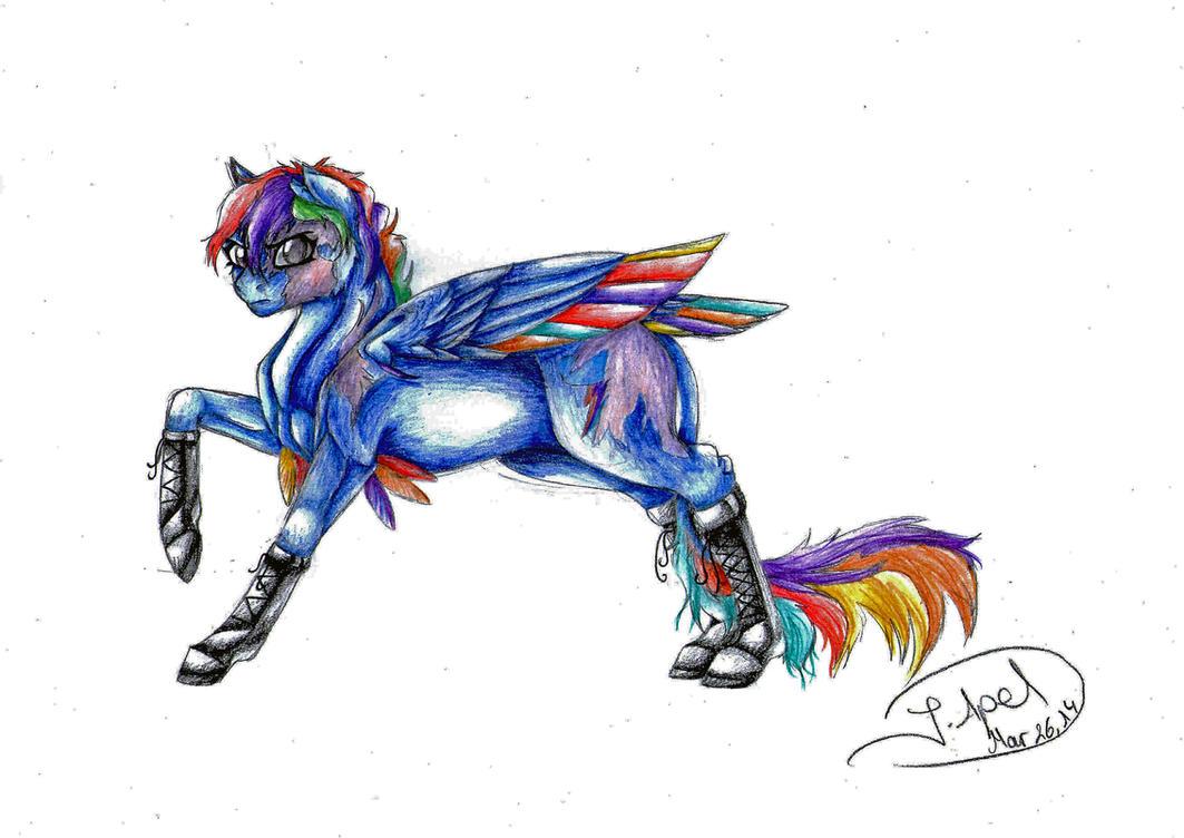 MLP S.I.A.-Rainbow Dash by jessi-dragon-rider