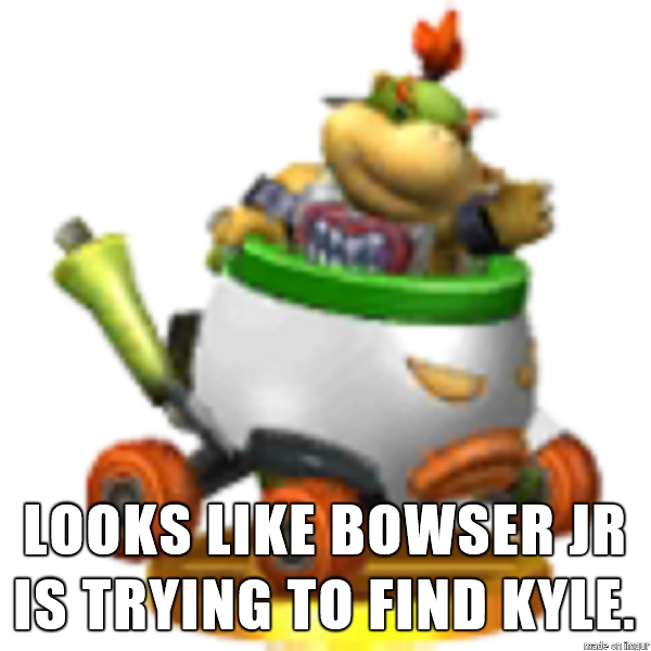 Bowser Jr Might Be a Nazi. by SharpySaber