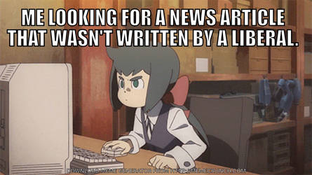 Hope it's not fake news. by SharpySaber