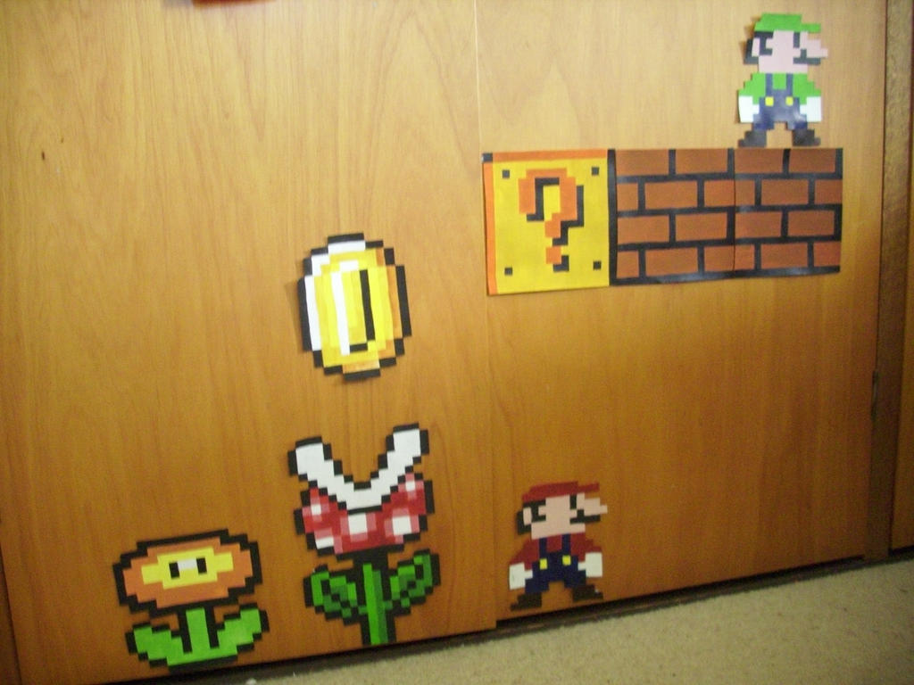 Painted Pixel Art- Mario Land 16bit by Winray on DeviantArt