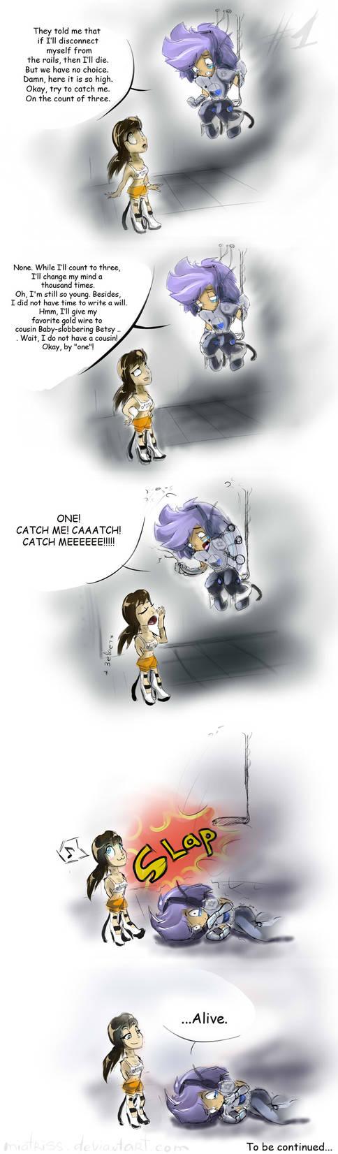 Portal 2: :Catch me: vol. 1 by Miatriss