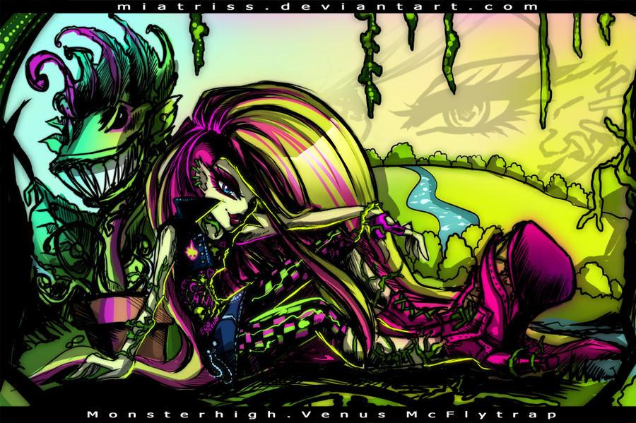 Monster High: Venus McFlytrap by Miatriss on DeviantArt: miatriss.deviantart.com/art/Monster-High-Venus-McFlytrap-320526989