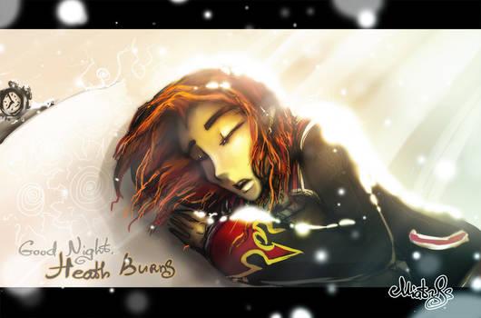 Monster High: Good Night, Heath Burns