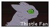 Thistle Fan Stamp  by EternityOfNightmares
