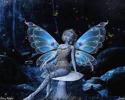 Fairy Night Wallpaper