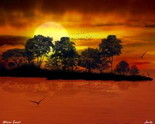 Warm Sunset by JJGP