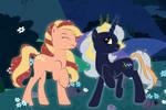 ShootingStar and SkyLights : My little pony