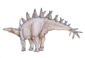 Lexovisaurus sp. by Antresoll