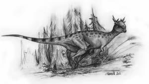 Stygimoloch spinifer by Antresoll