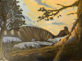 Corythosaurus casuarius by Antresoll