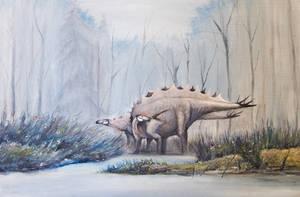 Stegosaurus from Sharypovo (Russia)