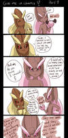 Give me a chance! part 1 by PlatinaSena