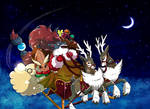 The foxy Santa Christmas