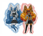 Commission-Krystal and Ember