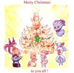 Lopunny Christmas tree wishes by PlatinaSena