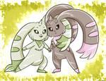 Digimon bunnys