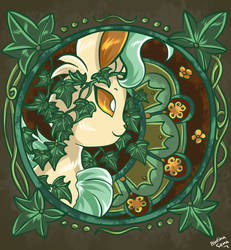 Leafeon Artwork