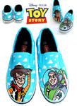 TOY STORY SHOES - Woody and Buzz