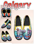 Calgary Shoes by artsyfartsyness