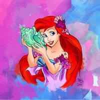 Ariel by artsyfartsyness