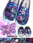 Jellyfish Shoes by artsyfartsyness