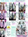 Rage Comic Shoes Tutorial Walkthrough ThingyMajigg by artsyfartsyness