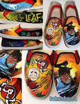 Legend of Korra Avatar Shoes