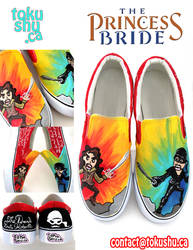 Princess Bride Shoes by artsyfartsyness