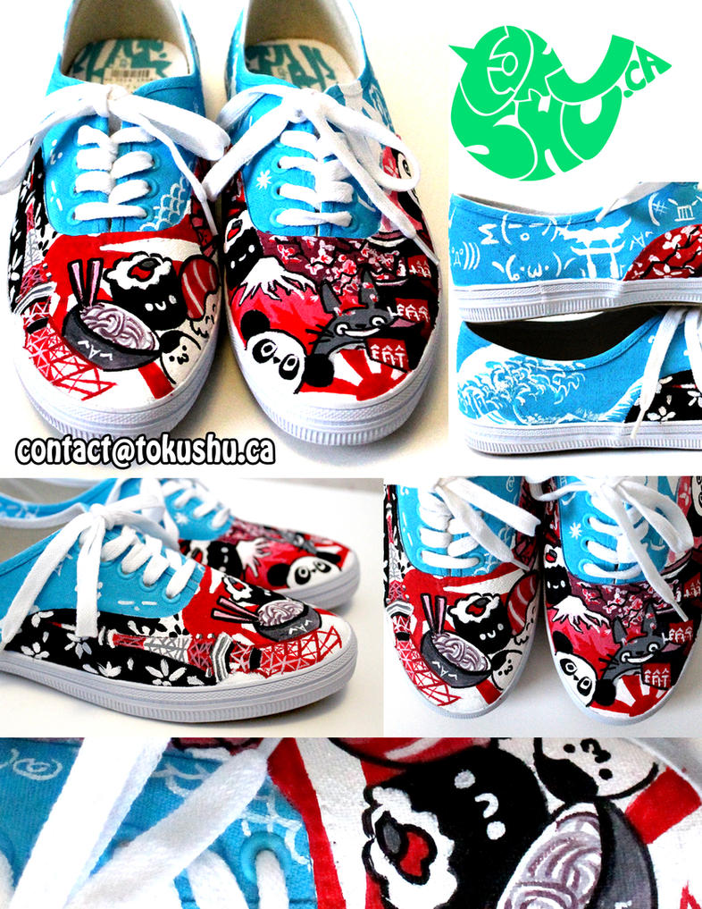 Japan Shoes by artsyfartsyness